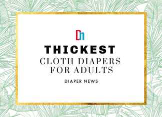 Thickest Cloth Diapers for Adults