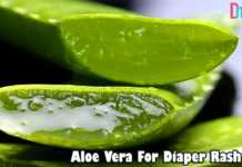 Aloe Vera For Diaper Rash