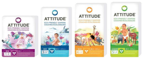 Attitude Diaper Set