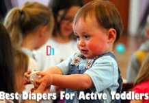 best diapers for active toddlers