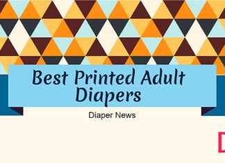 best printed adult diapers