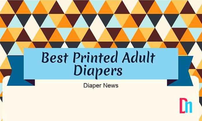 best printed adult diapers