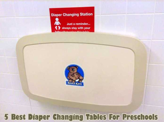 diaper changing table for preschool