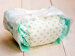 dirty/soiled diapers
