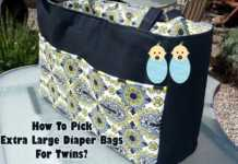 Extra Large Diaper Bags For Twins