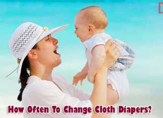 how often to change cloth diapers?