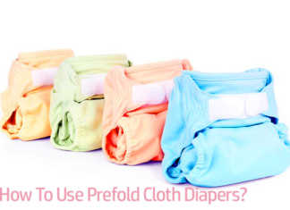How to use prefold cloth diapers