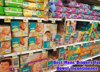 mens diapers for bowel incontinence